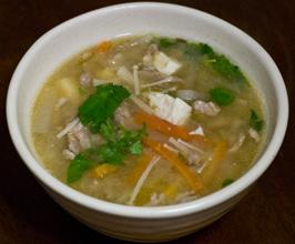 Tonjiru – pork and miso soup | Kyoto Bean Soup