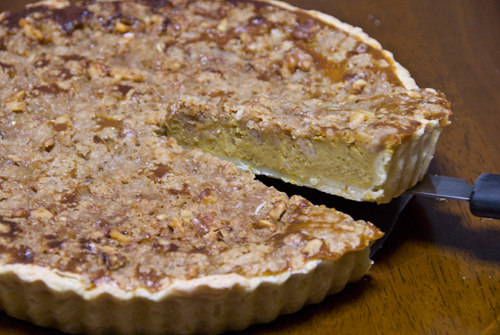 pumpkin tart with bourbon pumpkin tart with pumpkin tart with walnut ...