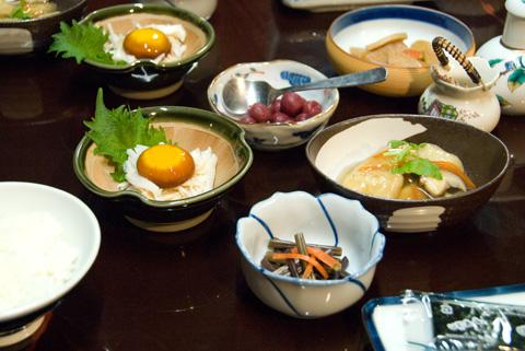 tsumago breakfast 1